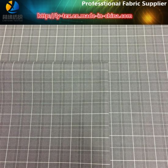 Mini Check Fabric for Men Jacket in Polyester Yarn Dyed (YD1032) pictures & photos