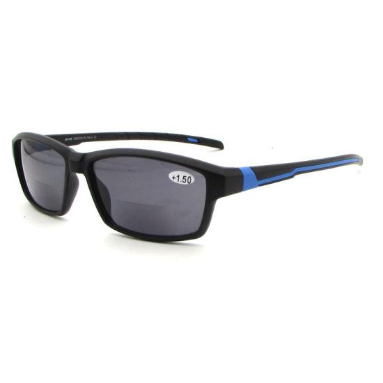 Super Quality Retro Classic Outdoor Bifocal Sport Sunglasses PC Sports Reading Glasses Sunglasses
