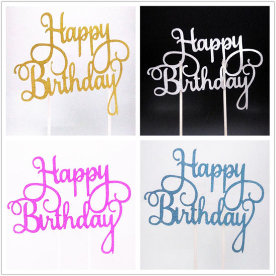 Pleasing China Cake Topper Happy Birthday Cupcake Toppers Cake Flag Party Birthday Cards Printable Giouspongecafe Filternl