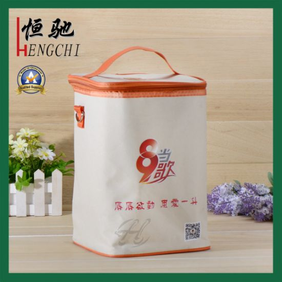 Oxford Insulated Lunch Cooler Bag for Frozen Food