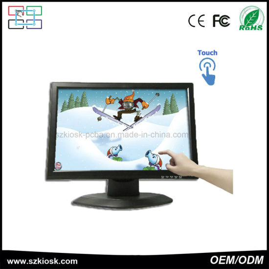 Cheap HDMI Input 17 Inch LCD LED Desktop Monitor pictures & photos