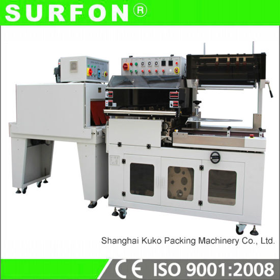 Facial Mask Shrink Wrapping Machine with POF Film pictures & photos