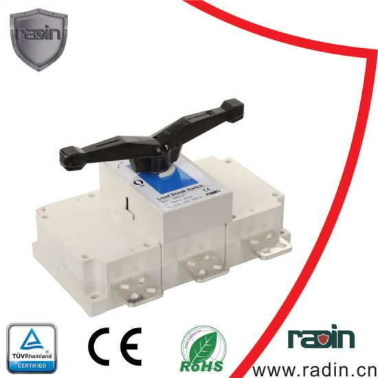 China 125a-1600a Disconnector Load Break Isolation Switch Without Fuse