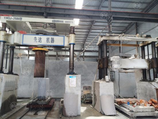 Overseas Service After Sales Stone Machine/Four Cylinder Column Slab Arc Slab Gantry Stone Cut &Cutting Machine pictures & photos