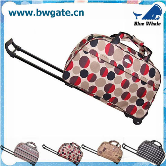 Bw1-061 Trolley Travelling Duffle Bag Small Rolling Luggage Travel Bag pictures & photos