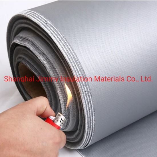Hot Sale Fire Proof Silicone Coated Fiberglass Fabric Sc450W