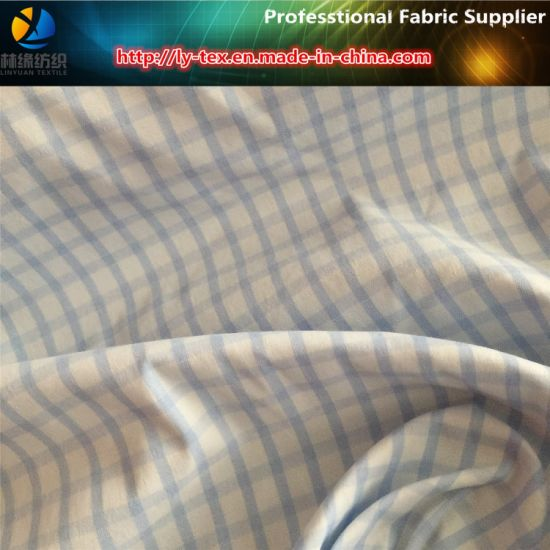 Nylon Twill Spandex Yarn Dyed Check Fabric for Shirt (YD1166) pictures & photos