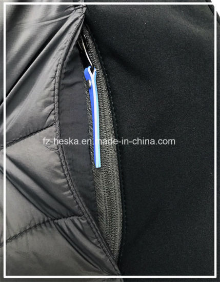 OEM Latest Design Softshell Mens Black Padding Jacket pictures & photos