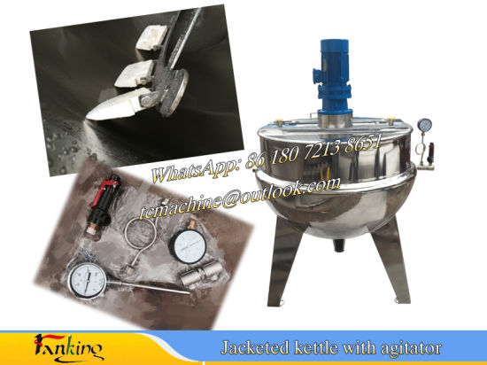 200L Electric Heating Cooking Kettle Jacketed Kettle 300L pictures & photos