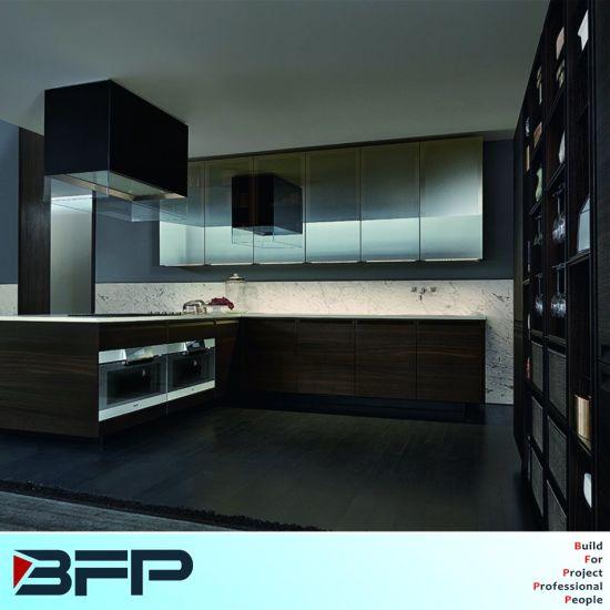 Customized Modern Kitchen Furniture Chinese Kitchen Products (BVK-192)