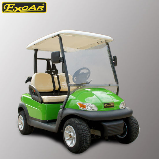 Hot Sale 2 Seater Electric Golf Buggy pictures & photos