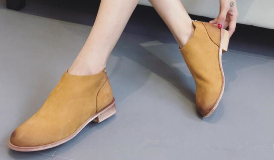 Casual Shoes Leisure Footwear Women Lady Ankle Boots pictures & photos