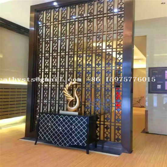China Custom Stainless Steel Wall Panel Interior And Exterior Decoration Company China