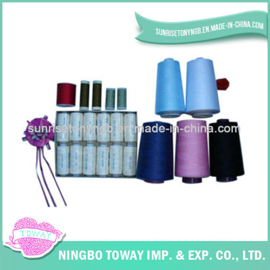 China Wholesale Types Of Sewing Thread Cone Polyester Cotton