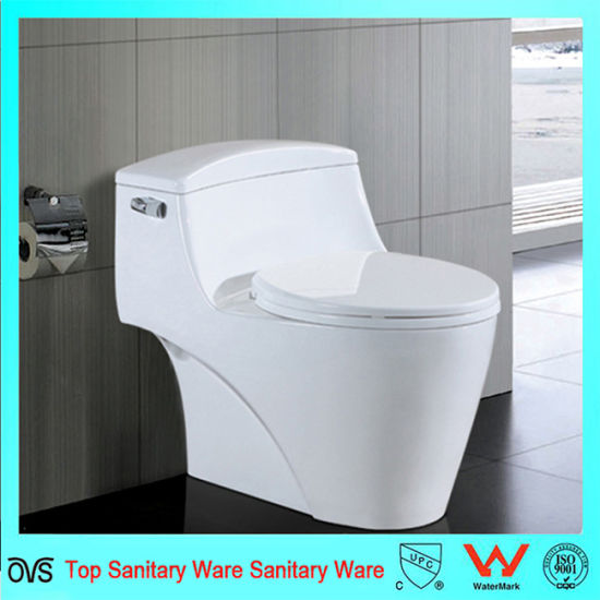 Ceramic Porcelain Sanitary Ware One Piece Water Closet Toilet