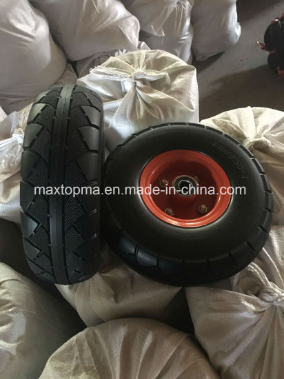 China Factory Many Kinds PU Foam Wheel pictures & photos