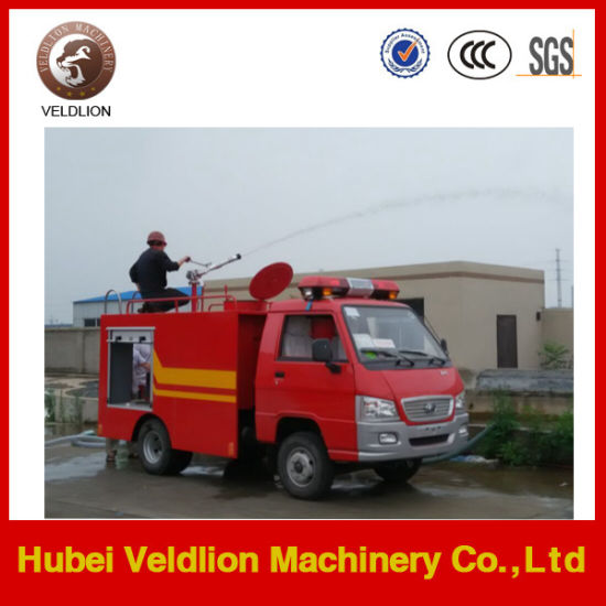Foton 4X2 1500L Water Tank Fire Fighting Truck pictures & photos