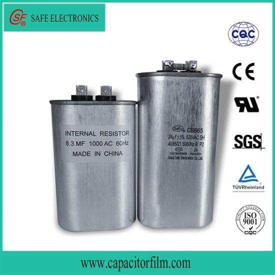 Cbb65 Metallized Film Capacitor for Washing Machine