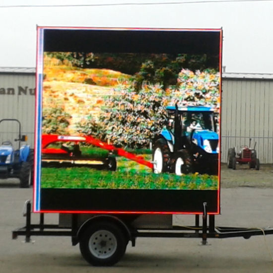 Outdoor Mobile Vehicle/Trailer/Truck LED Sign Advertising Moving LED Billboard Screen Display Signage Board Panel