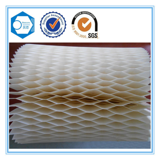 Beecore Paper Honeycomb Core-Flame Retardancy, Fire Proof pictures & photos