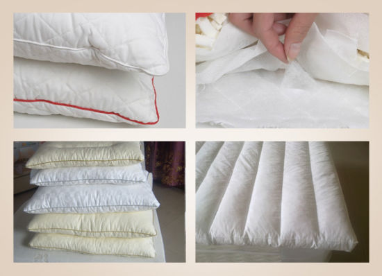 Shredded Natural Latex Good Pillow/ Bamboo Pillow pictures & photos