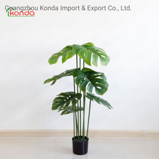 Artificial Floor Plastic House Greenery Potted Plants for House Decoration