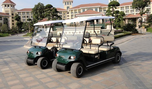 4 Seater Electric Golf Car with Ce Certification pictures & photos