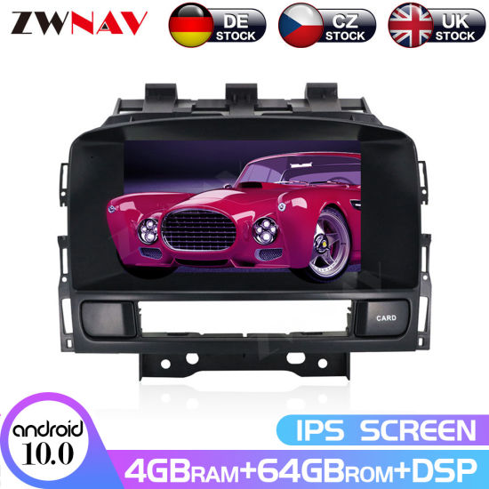 Px6 Android 10.0 64G Car DVD Player for Opel Astra J 2010 2011 2012 2013 CD300 CD400 2 DIN GPS Navigation Radio