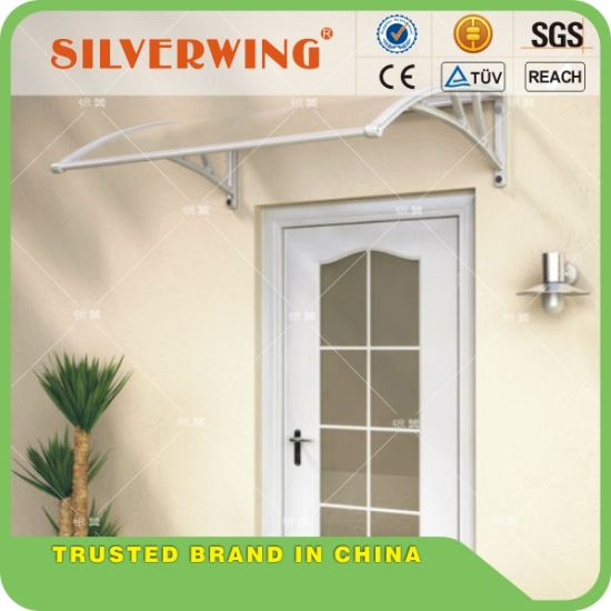 Door Window Outdoor Awning Polycarbonate Patio Sun Shade Cover Canopy