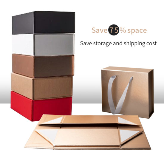 5 Empty Small Large Cardboard Custom Foldable Gift Shipping Boxes Custom Gold Pink Black White Clothing/Clothes/Lingerie/Wine/Cosmetic/Electronics/Perfume/Shoes