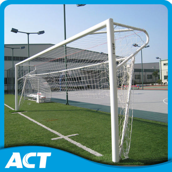 China Professional Fixed Aluminum Football Goal Posts