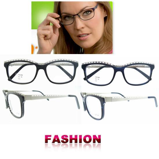 5d87ddd42e9 China Fashion Eyewear Optical Glasses Spectacle Frame Round Frames ...