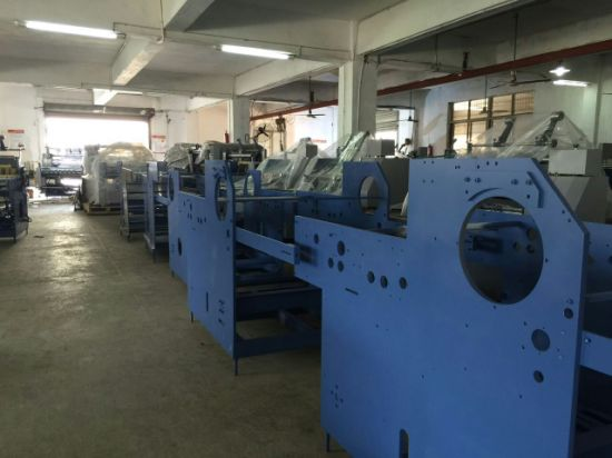 Yfma-540A/650A/800A Automatic Electromagnetic Heating Laminating Machine pictures & photos