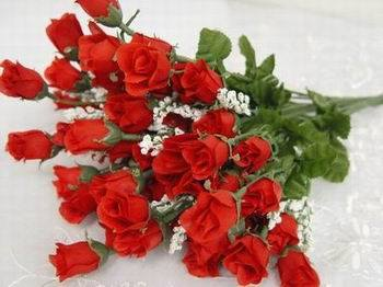 Cheap Wholesale Artificial Wedding Flower Manmade Flowers pictures & photos