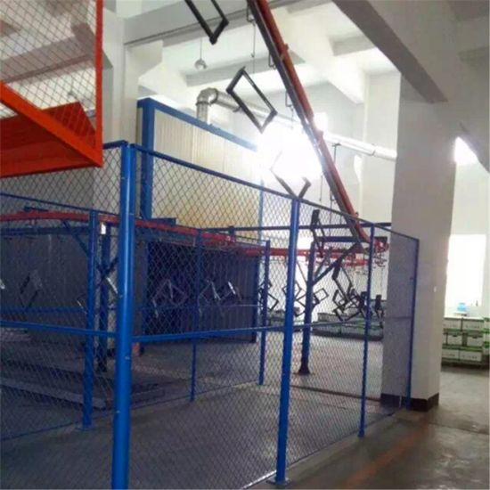 Automatic Liquid/Powder Coating Spray Production Line for Fence