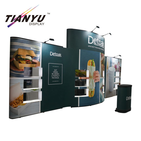 Good Quality Portable PVC Pop up Backdrop Trade Show Booth