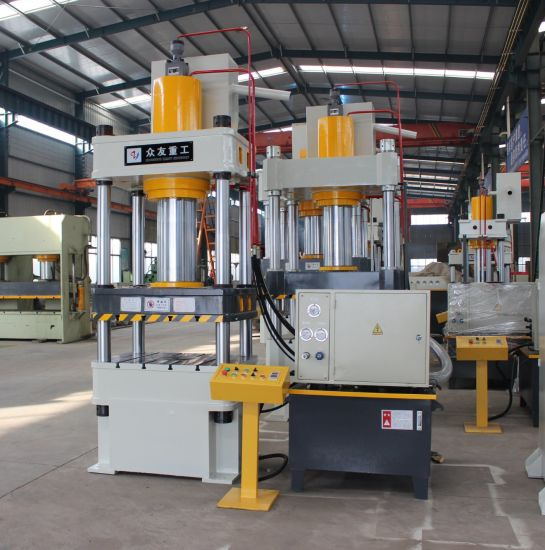 4-Column Hydraulic Press for Metal Sheet with Ce ISO SGS