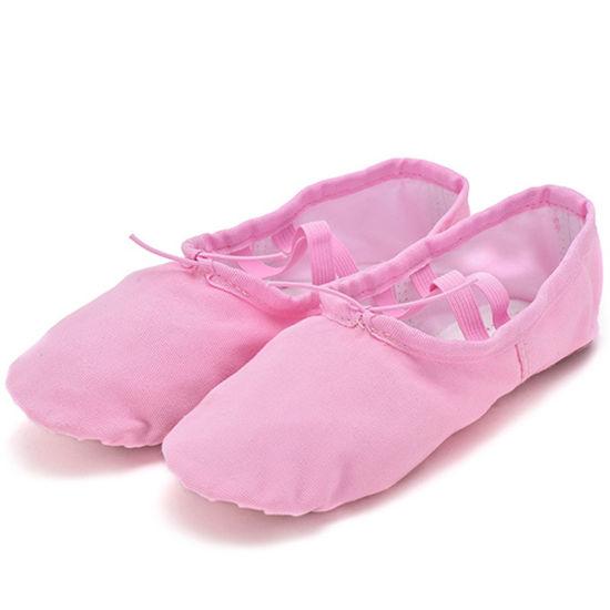 Dance Women's Dansoft Full Sole Leather Ballet Slipper/Shoe