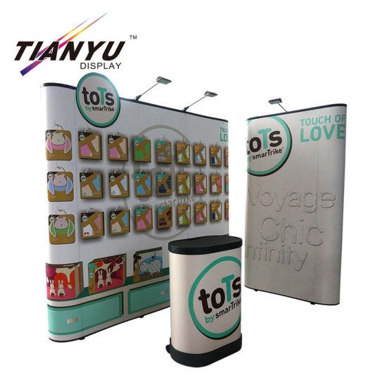 Offset Printing Cardboard Display Shelf for Cosmetics Make up Pop Display Stand