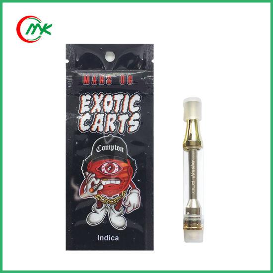 China Exotic Carts Packaging Cbd Thc Oil Cartridges Ikrusher Tank