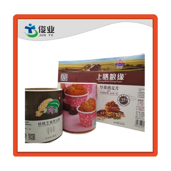 Full Color Printing Waterproof Food Sticker Label