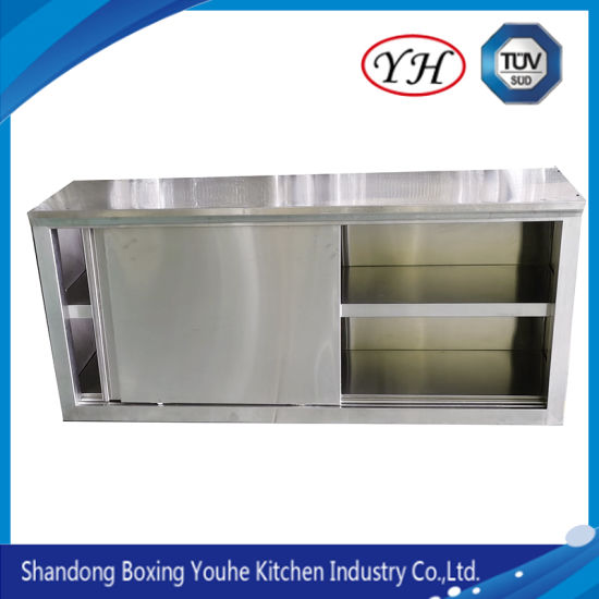 Professional Stainless Steel Open Wall Mount Storage Cupboard For Kitchen China Wall Cupboard Kitchen Cabinet Made In China Com