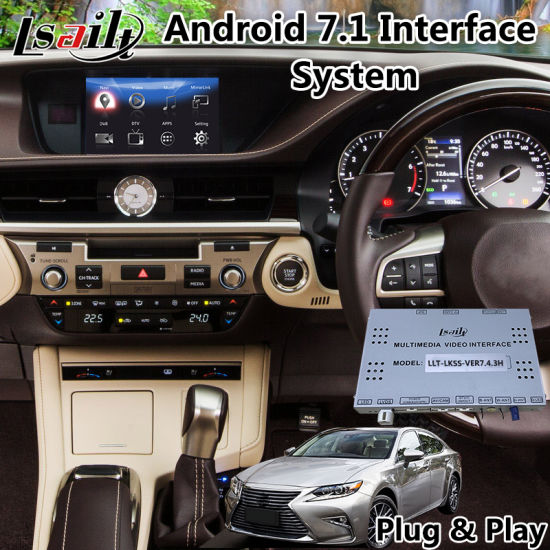 Android 7 1 Audio Interface For Lexus Es 350 Mouse Control 2017 2018 Navigation Box