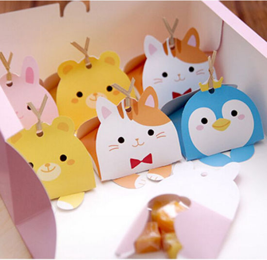 Cute Animal Modeling Decoration Paper Gift Candy Bo Whole Pictures Photos