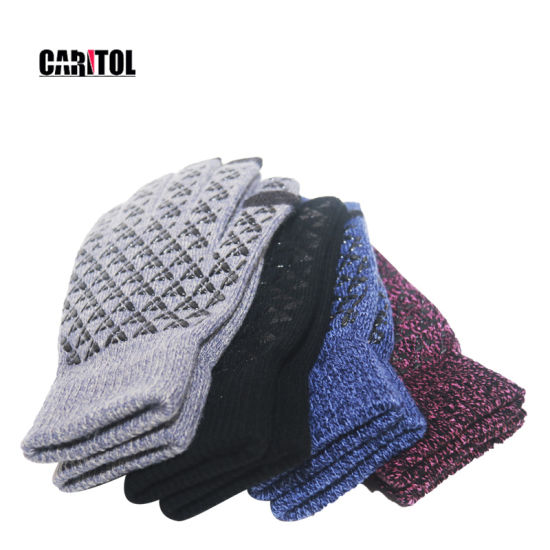 Wholesale Winter Outdoor New Men Movement Cycling Warm Cotton Knit Gloves Work Gloves