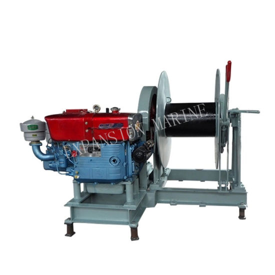 50kn Diesel Anchor Winch for Small Boat