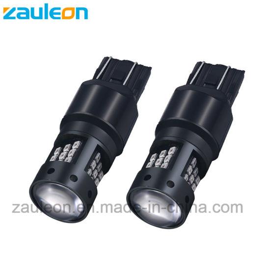 Car LED Tail Light 7443 7443 Red Color for Rear Brake Bulb