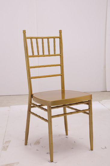Wholesale Stackable Western Wedding Chiavari Chair Church Chair Hall Chair