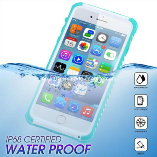 Custom Waterproof Phone Case for iPhone 6, 7, 8 pictures & photos