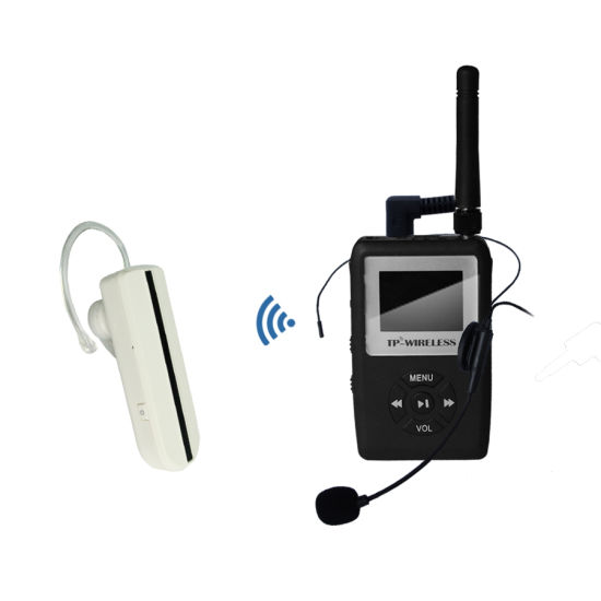 2.4G Digital Wireless Audio Transmitter with MP3 Function